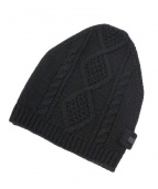 PRADA(プラダ)の古着「ニットキャップ」|ブラック