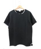 Healthknit(ヘルスニット)の古着「半袖スウェット」|ブラック