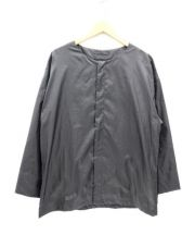 SASQUATCHfabrix.(サスクワッチ ファブリックス)の古着「ナイロンビッグシャツ」 ブラック