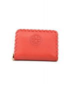 TORY BURCH(トリーバーチ)の古着「MARION ZIP COIN CASE」|ピンク