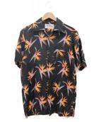 Aloha Blossom(アロハブロッサム)の古着「アロハシャツ」 ブラック