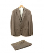 POLO RALPH LAUREN(ポロ バイ ラルフローレン)の古着「3ピーススーツ」 ブラウン