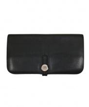 HERMES(エルメス)の古着「長財布」|ブラック