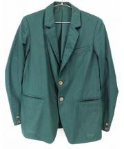Frank Leder(フランクリーダー)の古着「テーラードジャケット」|グリーン