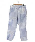 SSZ(エス エス ズィー)の古着「イージーパンツ」|ブルー