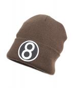 Supreme(シュプリーム)の古着「8-Ball Beanie」|ブラウン