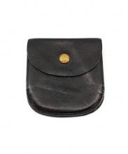 IL BISONTE(イルビゾンテ)の古着「2つ折り財布」|ブラック