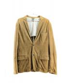 eleventy(イレブンティ)の古着「スウェードジャケット」|ブラウン
