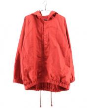 Edwina Horl(エドウィナホール)の古着「フーディージャケット」|レッド
