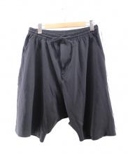 Y-3(ワイスリー)の古着「サイドラインハーフパンツ」|ブラック