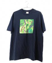 Supreme(シュプリーム)の古着「プリントTシャツ」|ネイビー
