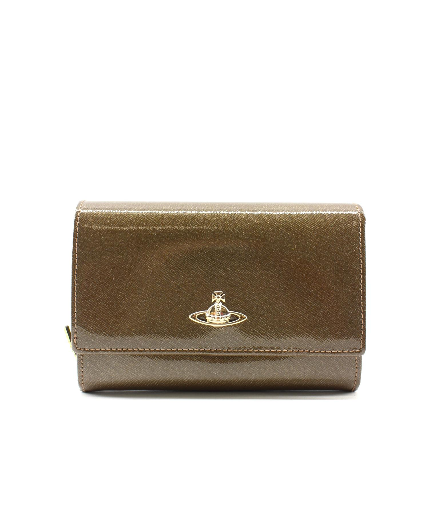 ce80c117954f Vivienne Westwood (ヴィヴィアンウエストウッド) 3つ折り財布 サイズ:下記参照 イタリア製. Vivienne Westwood