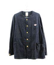 DANTON × BEAMS(ダントン ビームス)の古着「別注デニムカバーオール」|インディゴ