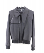 DIOR HOMME(ディオールオム)の古着「ウール混ブルゾン」|ブラック