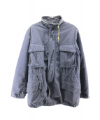KAPITAL(キャピタル)の古着「M65ジャケット」|ネイビー
