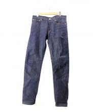 A.P.C.(アーペーセー)の古着「セルビッジデニムパンツ」|ネイビー