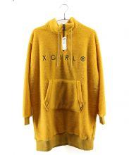 X-GIRL(エックスガール)の古着「ボアワンピース」