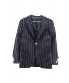 Brilla per il gusto(ブリッラ ペル イル グスト)の古着「ストライプ3Bテーラードジャケット」