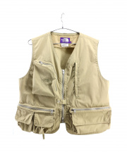 THE NORTH FACE PURPLE LABEL(ザノースフェイス パープルレーベル)の古着「Angle Vest」|ベージュ