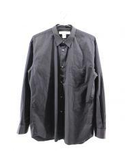 COMME des GARCONS SHIRT(コムデギャルソンシャツ)の古着「ロングスリーブシャツ」|ブラック