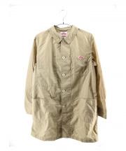 DANTON × BEAMS(ダントン ビームス)の古着「ナイロンショップコート」