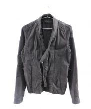 JULIUS(ユリウス)の古着「ブラックデニムジャケット」