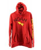 NOAH(ノア)の古着「アンチナジリーグフーディ」|レッド