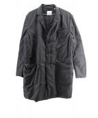 ASPESI(アスペジ)の古着「中綿ステンカラーコート」|ブラック