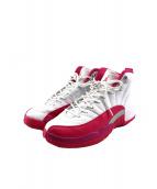 NIKE(ナイキ)の古着「バスケットボールシューズ」|ホワイト×ピンク