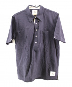 Black Fleece(ブラックフリース)の古着「ボタンダウンポロシャツ」|ネイビー