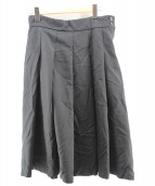 BLACK COMME des GARCONS(ブラックコムデギャルソン)の古着「フレアスカート」|ブラック