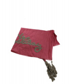 ebagos(エバゴス)の古着「リネン混ストール」|ピンク