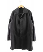 Calvin Klein(カルバンクライン)の古着「ライナー付ステンカラーコート」 ブラック