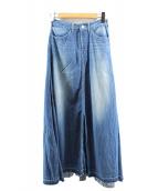 WOADBLUE(ウォードブルー)の古着「デニムマキシスカート」