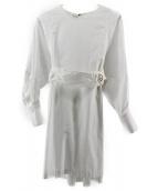 MACPHEE(マカフィ)の古着「コットンブロード ワイドアームチュニックシャツ」 ホワイト