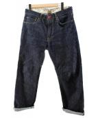 CUNE(キューン)の古着「セルビッチデニムパンツ」|インディゴ