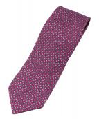 HERMES(エルメス)の古着「ネクタイ」|ピンク×ブルー