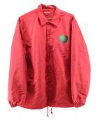 SUPREME(シュプリーム)の古着「アップルコーチジャケット」 レッド