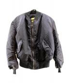 ALPHA(アルファ)の古着「L-2Bジャケット」 ネイビー