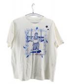 PORTER CLASSIC(ポータークラシック)の古着「プリントTシャツ」|ホワイト