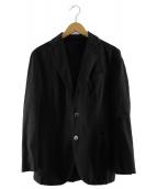 BOGLIOLI(ボリオリ)の古着「コットン3Bジャケット」|ブラック