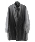 DURBAN(ダーバン)の古着「ライナー付比翼コート」|ブラック