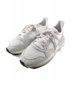 adidas(アディダス)の古着「ランニングシューズ」|ライトグレー×ホワイト