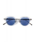 SOPHNET.×金子眼鏡(ソフネット×カネコメガネ)の古着「COMBINATION FRAME SUNGLASSES」|シルバー