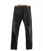 Christian Dior(クリスチャン ディオール)の古着「デニムパンツ」|ブラック