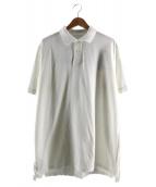 UNIFORM EXPERIMENT(ユニフォームエクスペリメント)の古着「リバーシブルポロシャツ」|ホワイト