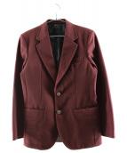 WACKO MARIA(ワコマリア)の古着「アンコンジャケット」 エンジ