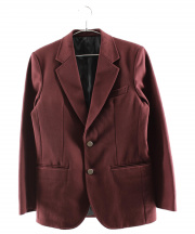 WACKO MARIA(ワコマリア)の古着「アンコンジャケット」|エンジ