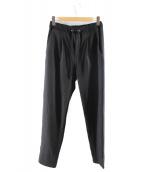 LARDINI(ラルディーニ)の古着「ジャージーパンツ」|ブラック