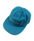 Supreme(シュプリーム)の古着「コンパクトロゴ6パネル」|ブルー